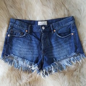 | free people | cutoff denim shorts